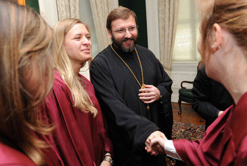 Ukrainian Church Leaders Honored